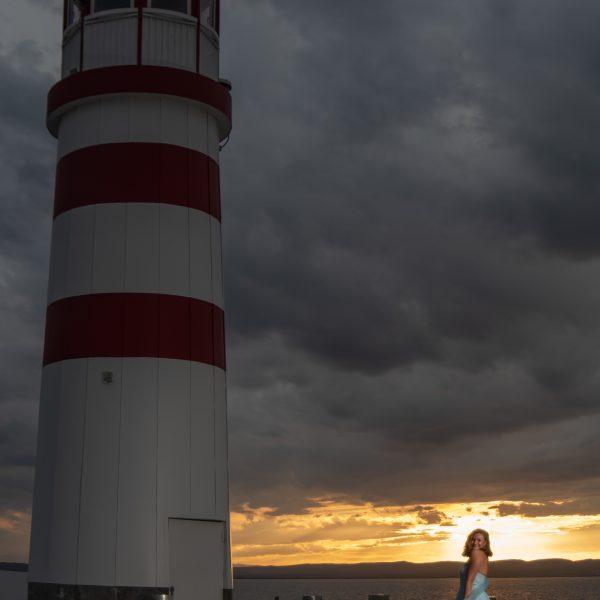 Leuchtturmshooting in Podersdorf inkl Sonnenuntergang